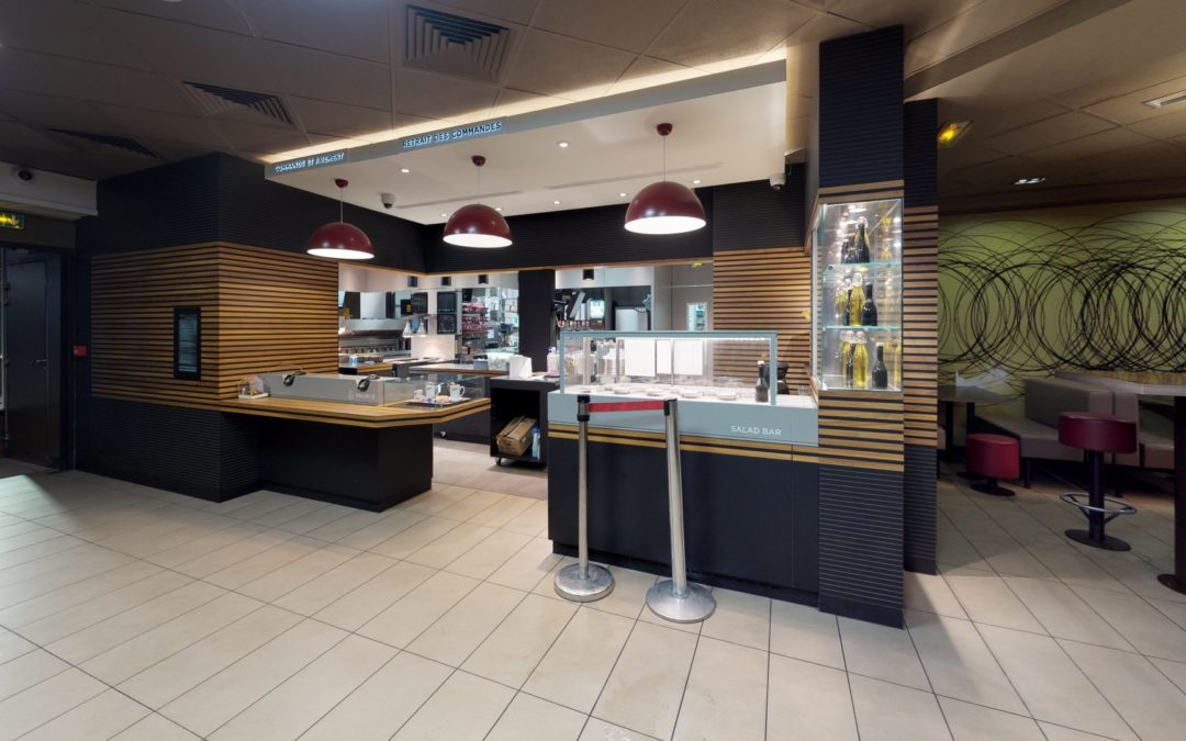 3D Visual McDonald's Restaurant